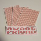 Sweet Friend - 4pc Mat Set
