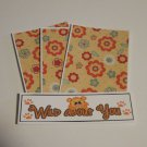 Wild About You - 4pc Mat Set