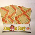 Snuggle Bug - 4pc Mat Set