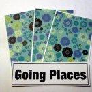 Going Places - 4pc Mat Set