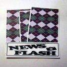 News Flash - 4pc Mat Set