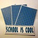 School Is Cool ab - 4pc Mat Set