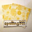 Spelling Bee a- 4pc Mat Set