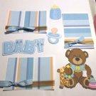 Baby Bear Boy a3 - Printed Piece/Title & Mats set