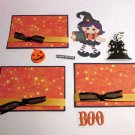 Boo Witch a3 - Printed Piece/Title & Mats set