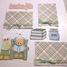 Grandma and Me a3 - Printed Piece/Title & Mats set
