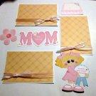 Mom Girl a3 - Printed Piece/Title & Mats set