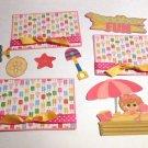 Sandbox Fun Girl a3 - Printed Piece/Title & Mats set