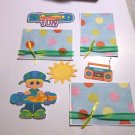 Skateboard Fun Boy a3 - Printed Piece/Title & Mats set