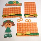 Uh Oh Spaghettios Girl a3 - Printed Piece/Title & Mats set