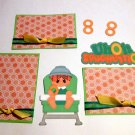 Uh Oh Spaghettios Baby a3 - Printed Piece/Title & Mats set