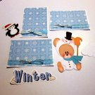 Winter Fun a3 - Printed Piece/Title & Mats set