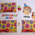 Birthday Girl a3 - Printed Piece/Title & Mats set