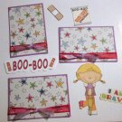 Boo Boo Girl a3 - Printed Piece/Title & Mats set