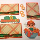 Uh Oh Spaghettios Boy a3 - Printed Piece/Title & Mats set