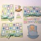 Sweet Dreams Boy a3 - Printed Piece/Title & Mats set