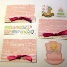 Sweet Dreams Girl a3 - Printed Piece/Title & Mats set