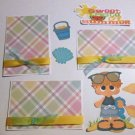 Sweet Taste Of Summer Boy a3 - Printed Piece/Title & Mats set