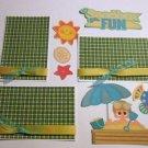 Sandbox Fun Boy a3 - Printed Piece/Title & Mats set