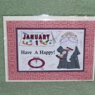 """Happy New Years - 5x7"""" Greeting Card with envelope"""