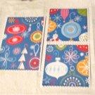 blue ornaments - Assorted Sewn Mats