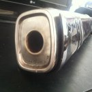 BMW Exhaust Pipe Muffler with exhaust shield