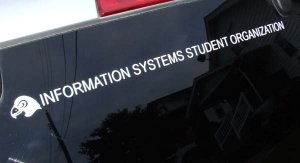 ISSO Vehicle Decal Fairmont State University