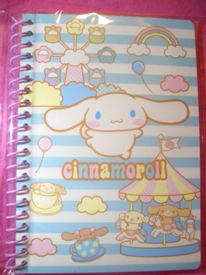 Cinnamoroll Mini Spiral Kawaii Notebook