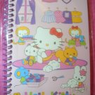 Hello Kitty Mini Spiral Kawaii Notebook