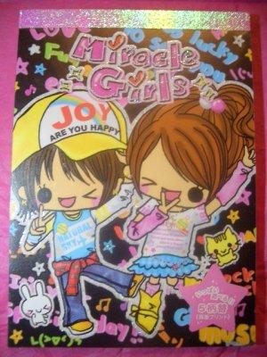 """Kamio """"Miracle Girls"""" Kawaii memo pad"""