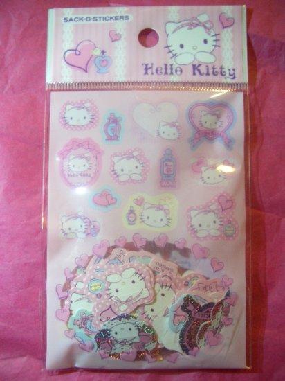 Hello Kitty Sack-O-Stickers Kawaii
