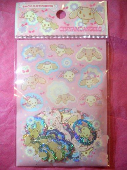 CinnamoAngels Sack-O-Stickers Kawaii