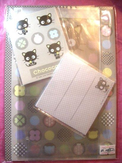 Chococat Letter Set Kawaii w/ Stickers