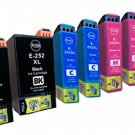 8 Pack Epson 252XL ink, WF-3620, WF-3640, WF-7110, WF-7610, WF-7620