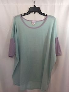 Lularoe Heathered Blue and Purple Lavender Size 3XL 3XXX NEW NWT