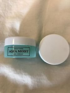 2 AQUA MOIST GEL CREAM by SALLY'S BOX ~ Travel Size ~ 5 ml Each ~ LOT of TWO NEW
