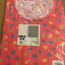 Sleep Shirt Nightgown Plus Size 1x 2x Pink Shells Pocket Dreams Co NEW NWT