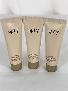 3 Minus 417 Hand Moisturizer - Dead Sea Cosmetics - NEW Sample 30 ml 1.02 oz