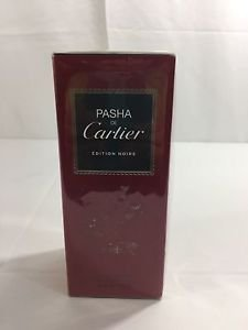 Cartier Pasha De Cartier Edition Noire Men's Eau De Toilette 150 ml/5 oz New