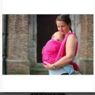 Yaro Baby Sling Braid Fuchsia Red Gloss Size 3 NEW in Package!