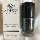 Set of 2 Adesse New York Liquid Chrome Organic Nail Polish lacquer NEW NIB