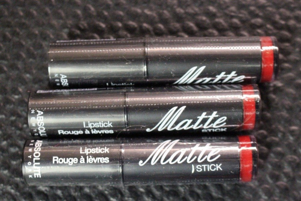 Absolute New York Matte Stick NFA52 Dark Red SEALED  LOT OF 2 Ipsy