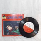 GREMLINS Paperback BOOK with RECORD Read ALONG