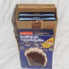 Rubbermaid Bathtub Appliques Vintage NEW BOX 6 Package LOT Bulk Chocolate