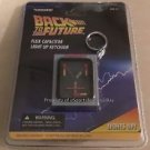 Back to the Future Flux Capacitor Light Up Keychain NEW FREE SHIPPING