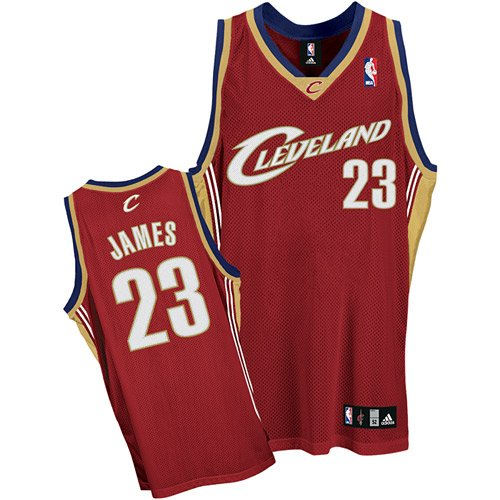 Cleveland Cavaliers LeBron James Authentic Road Jersey