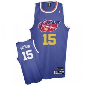 Denver Nuggets Carmelo Anthony Hardwood Classics Authentic Jersey