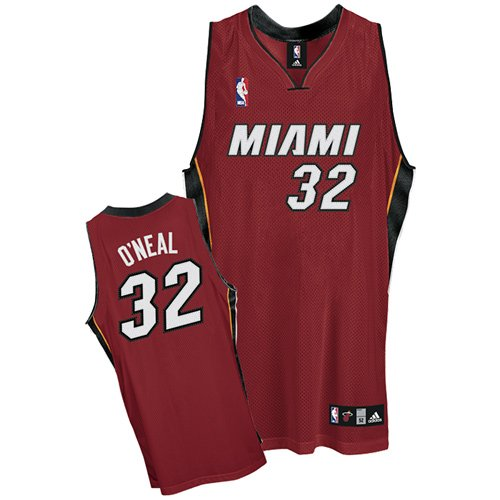 Miami Heat Shaquille O'Neal Authentic Alternate Jersey