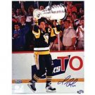 Frozen Pond Pittsburgh Penguins Mario Lemieux Autographed 16x20