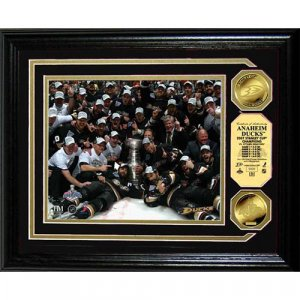Highland Mint Anaheim Ducks 2007 Stanley Cup Champions Photomint